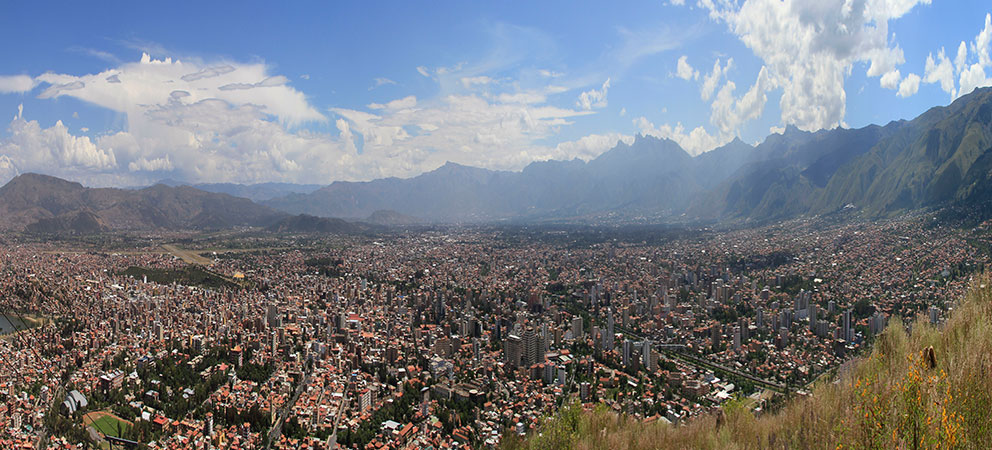 Cochabamba en Bolivia