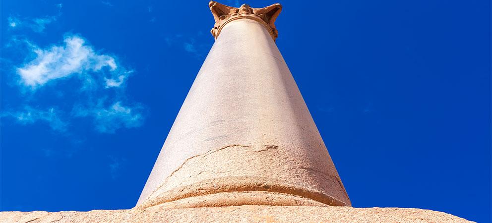 Como es la Columna de Pompeyo