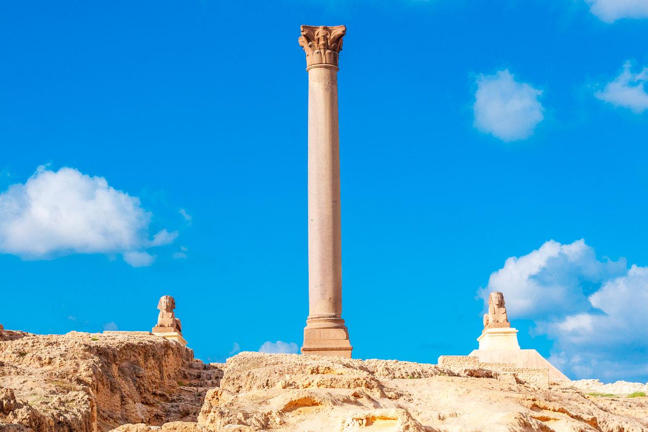 Columna de Pompeyo en Alejandria