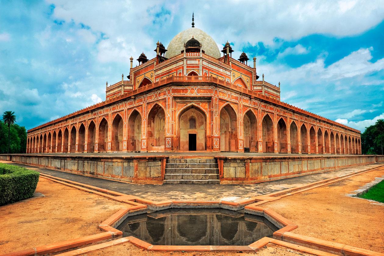 Mausoleo de Humayun en Nueva Delhi