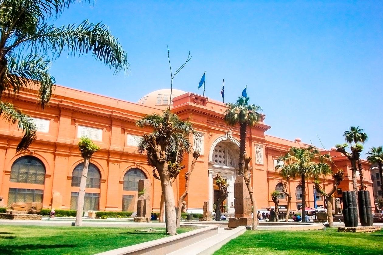 Como es el Museo Egipcio del Cairo