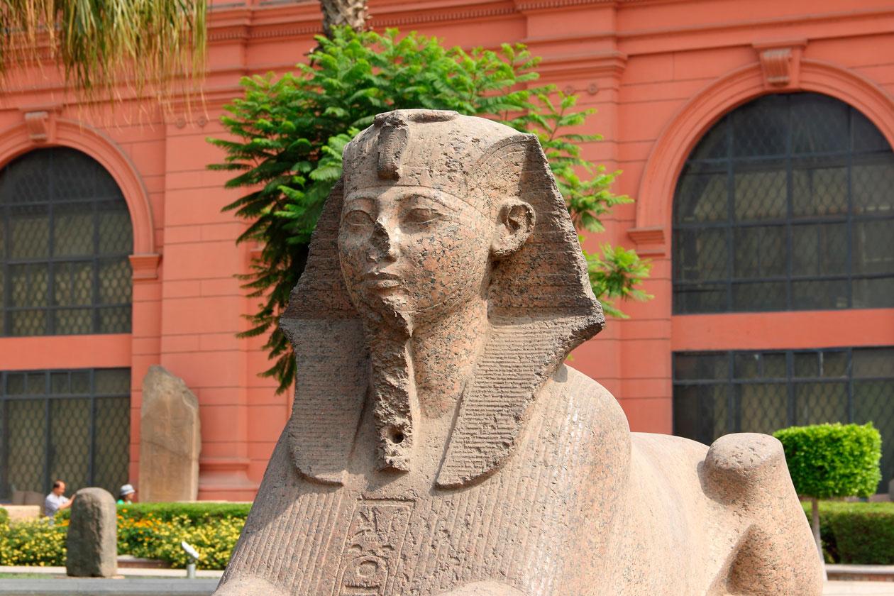 Conocer Museo Egipcio del Cairo