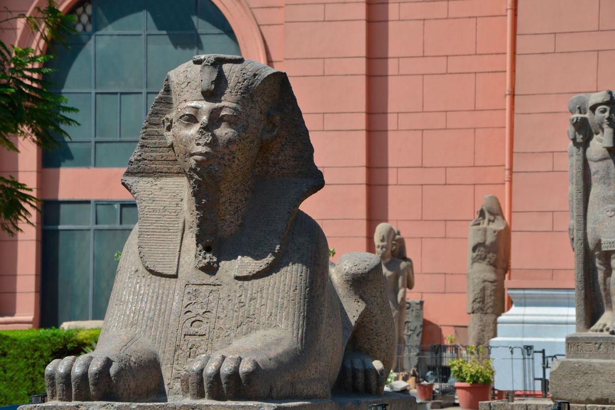 Que ver en Museo Egipcio del Cairo