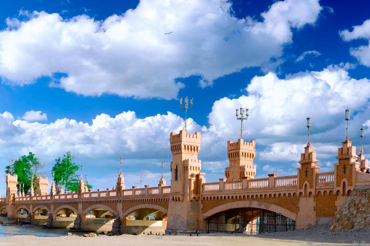 Puente Royal Park Montazah en Alejandria