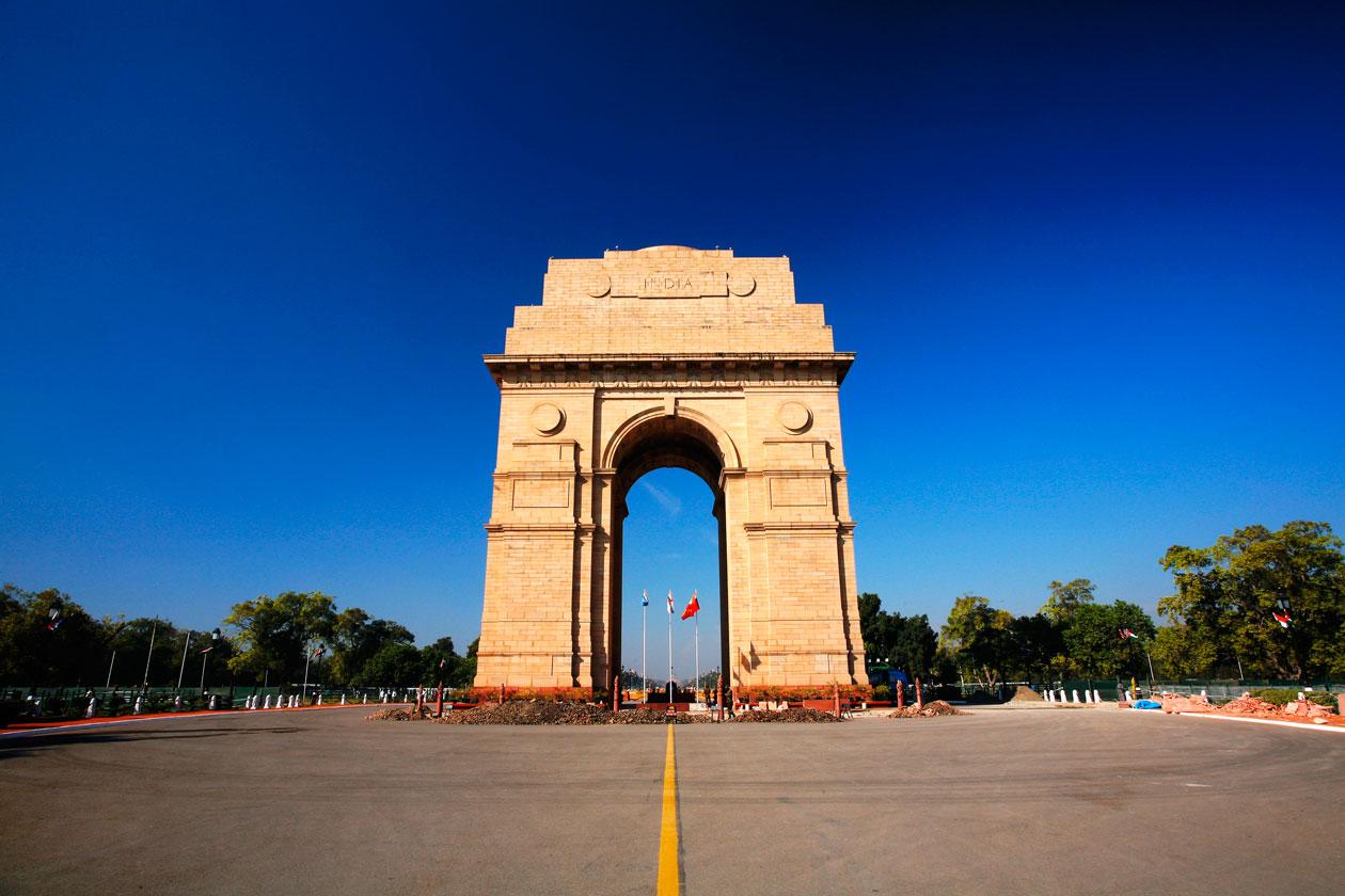 Puerta de la India de Nueva Delhi