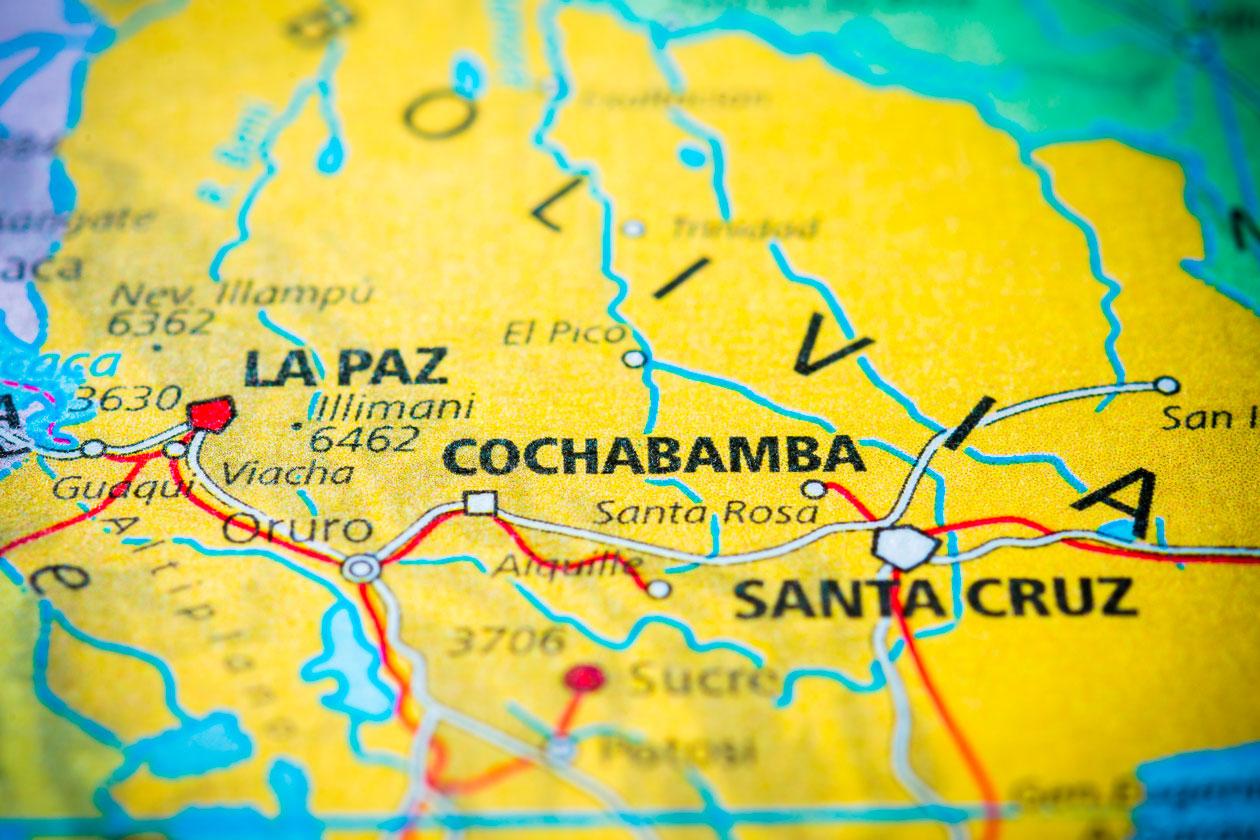 Donde esta Cochabamba
