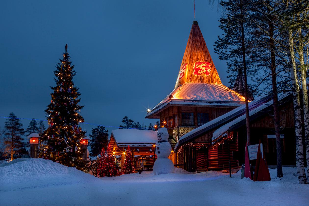 Visitar a Papa Noel