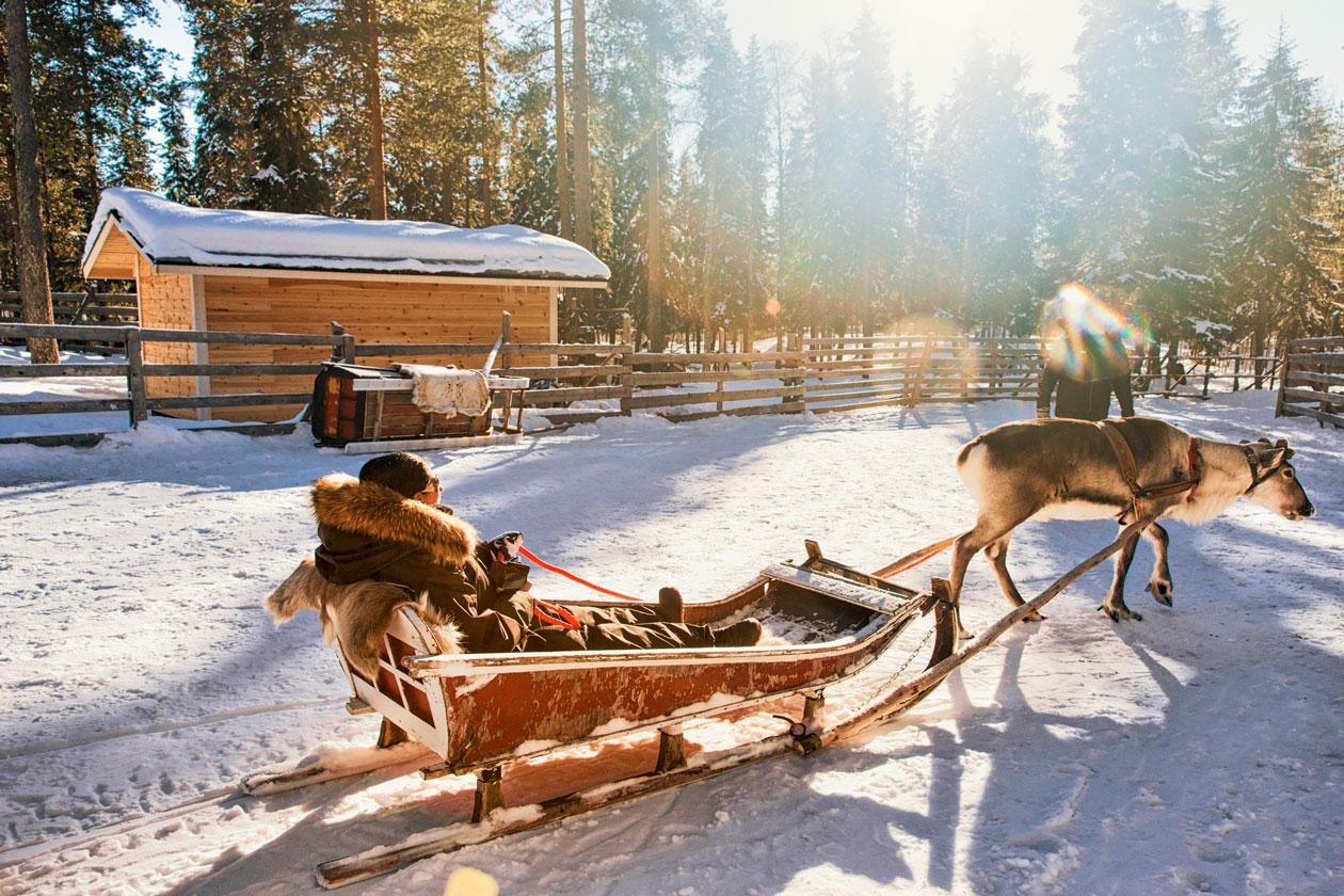 Que actividades se pueden hacer en Rovaniemi