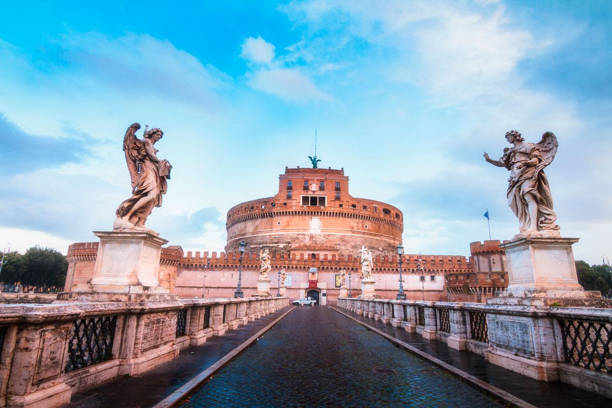Roma a pie