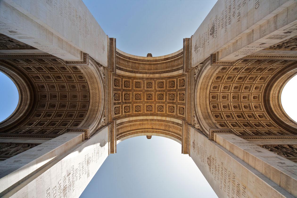 Como es el Arco del Triunfo