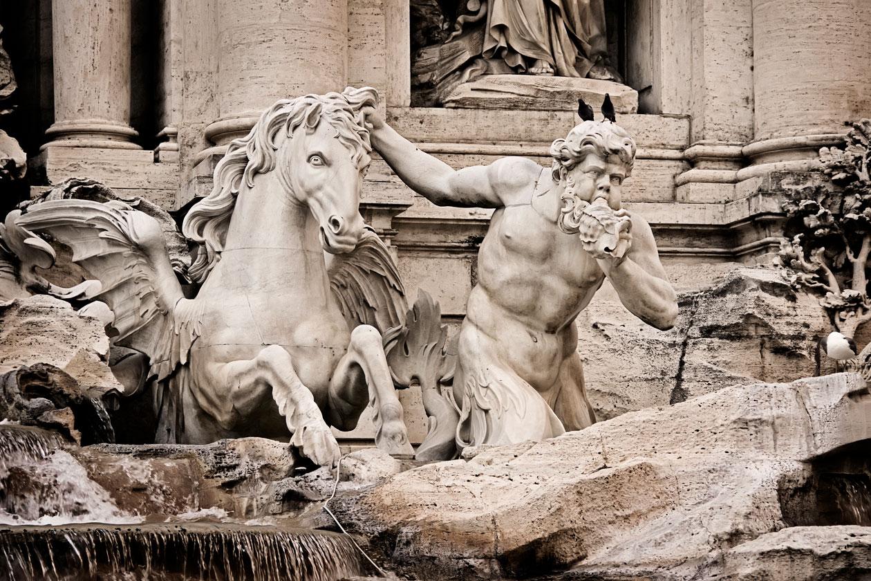 Como es la Fontana di Trevi