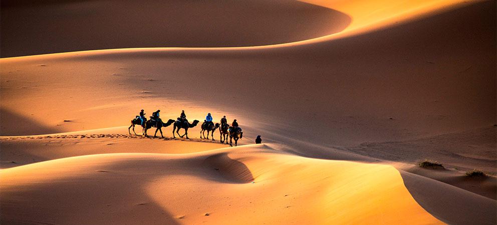 Conocer el desierto de Merzouga