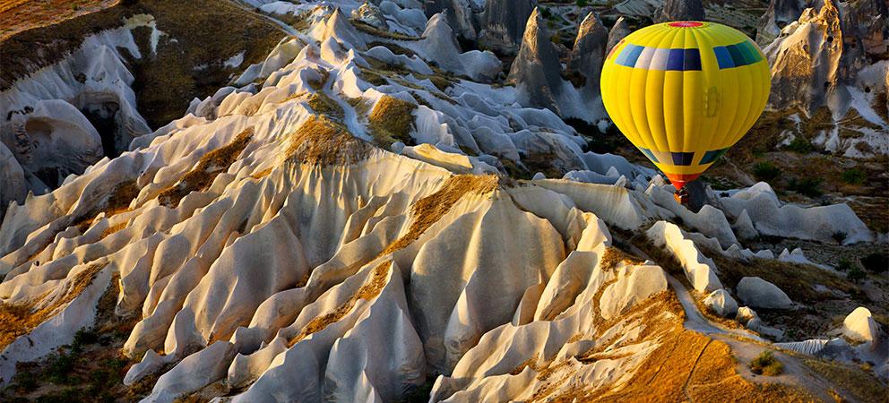 En globo por la Capadocia