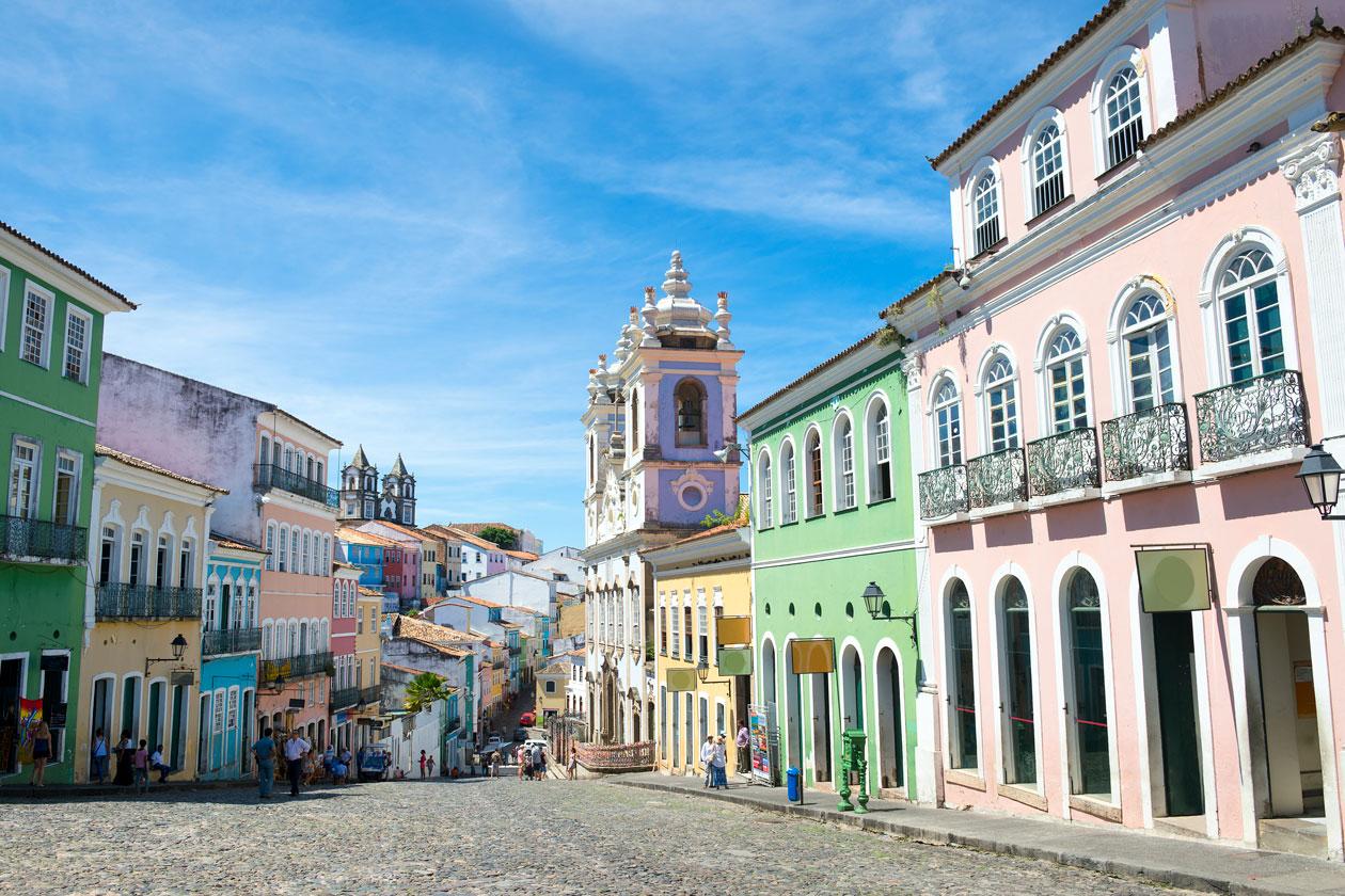 Caminar por Salvador de Bahia