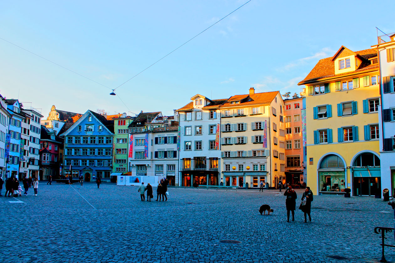 Viajar a Zurich
