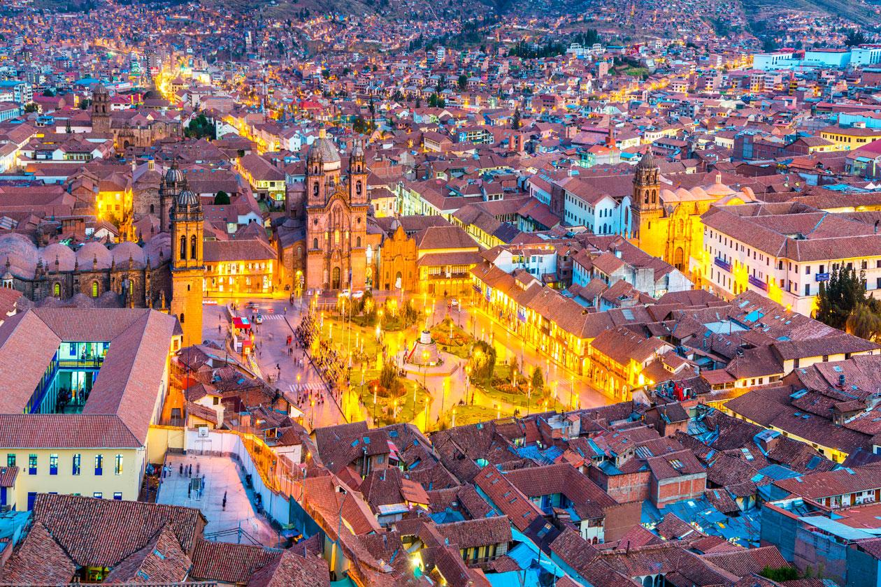 Cusco desde el aire