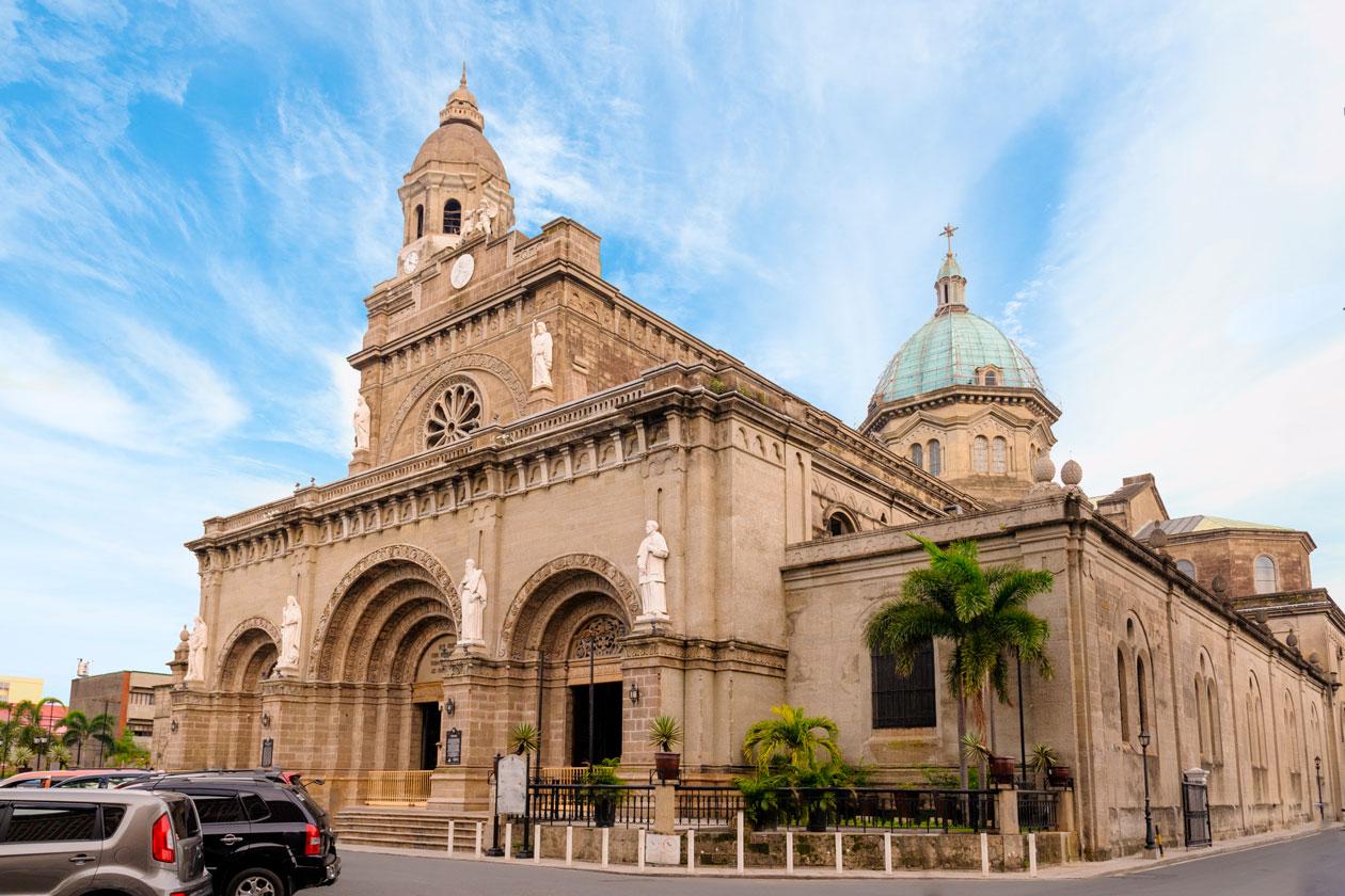 Visitas en Manila