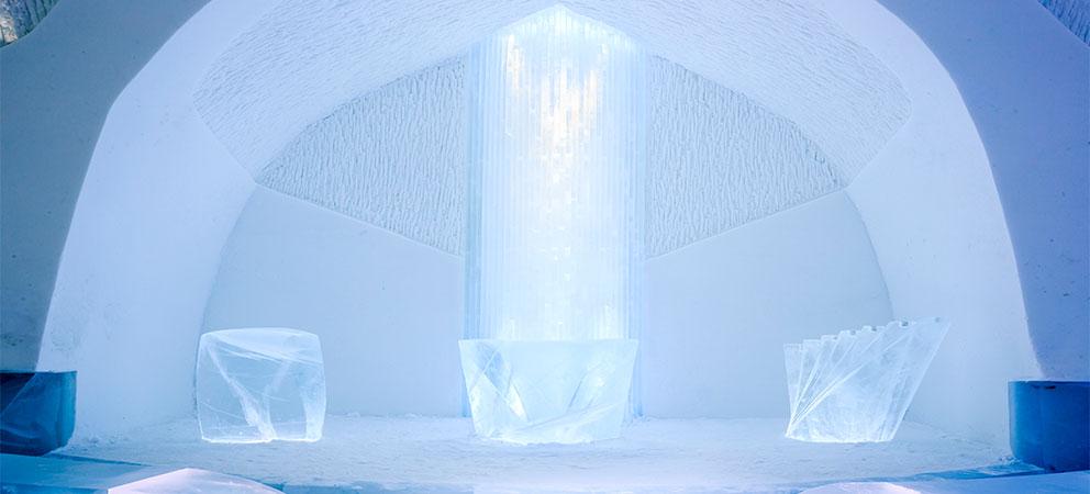 Como es hotel de hielo