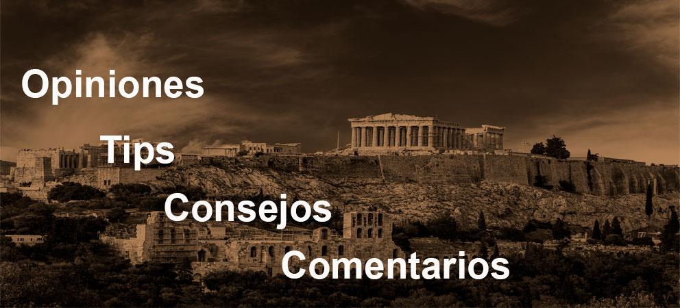 Tips y consejos de la Acropolis