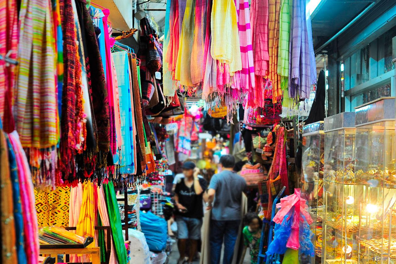 Que se puede encontrar en el mercado Chatuchak de Bangkok