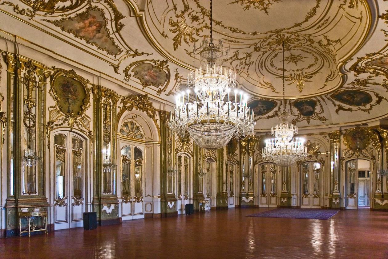 Interior del Palacio de Queluz
