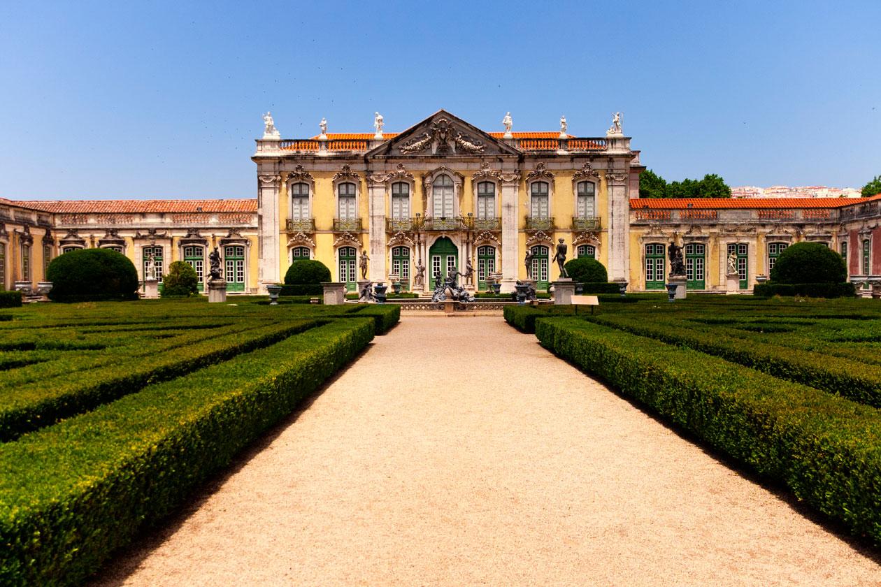 Los Jardines del Palacio de Queluz