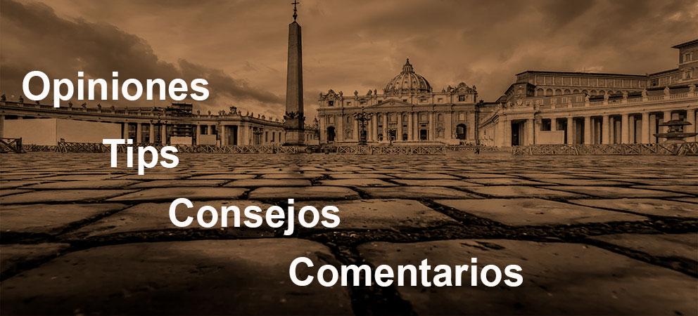 Tips y consejos de la Basilica de San Pedro en Roma