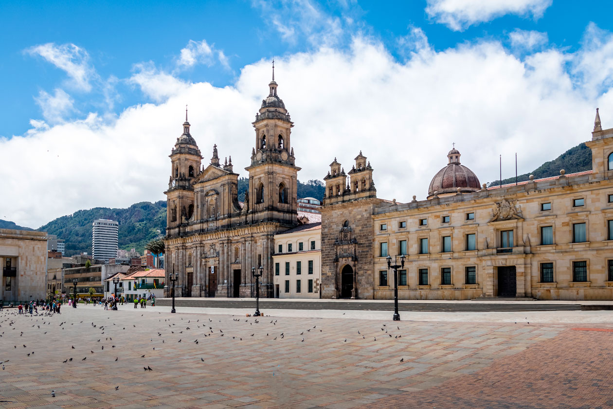 Pasear por Bogota