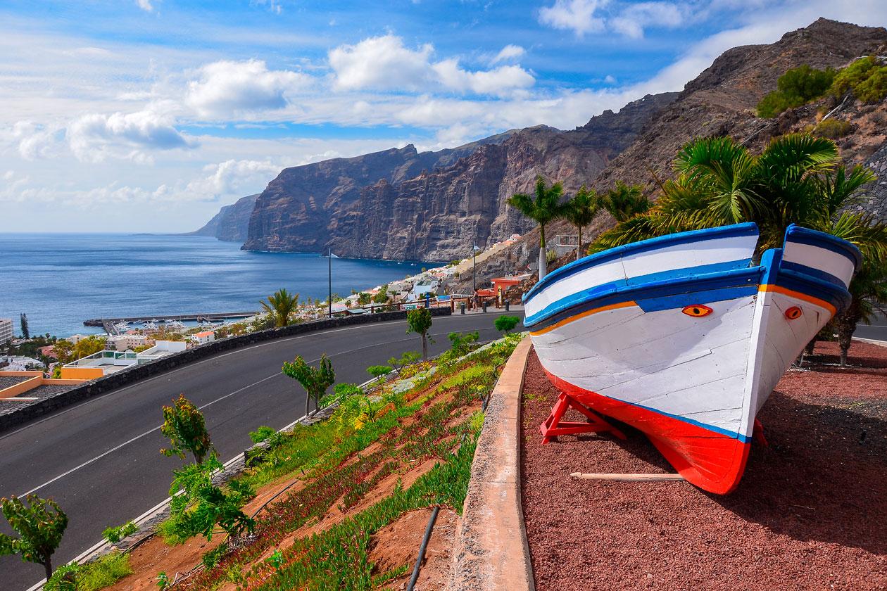 Como son los Gigantes de Tenerife