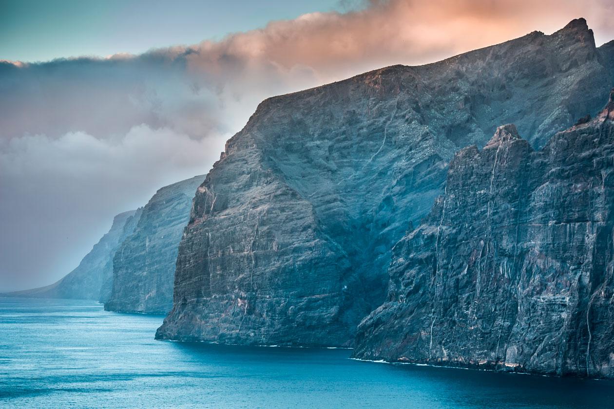 Conocer los Gigantes de Tenerife