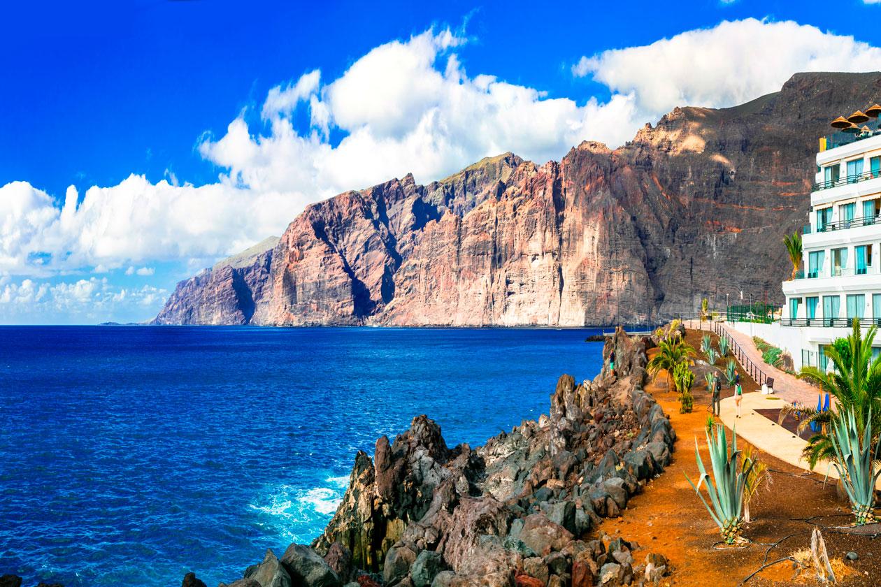 Visitar los Gigantes de Tenerife