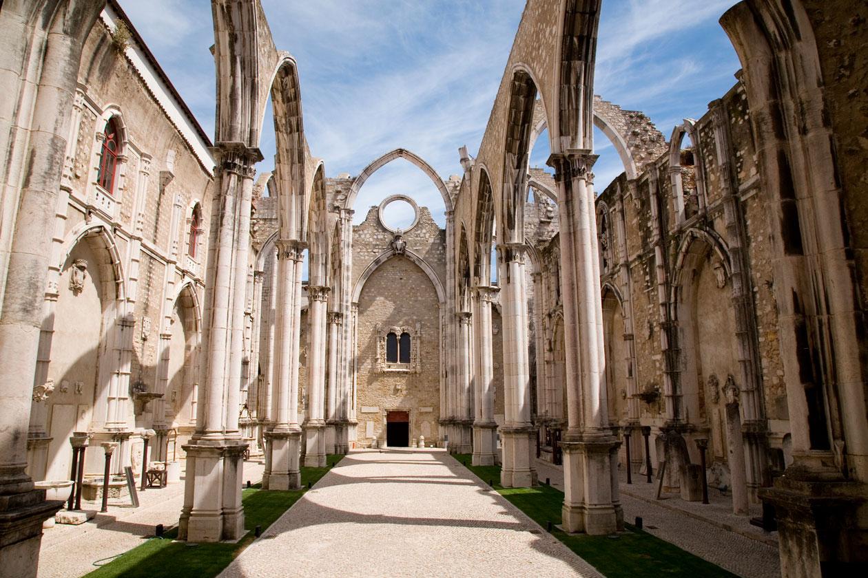Visitar el Convento do Carmo