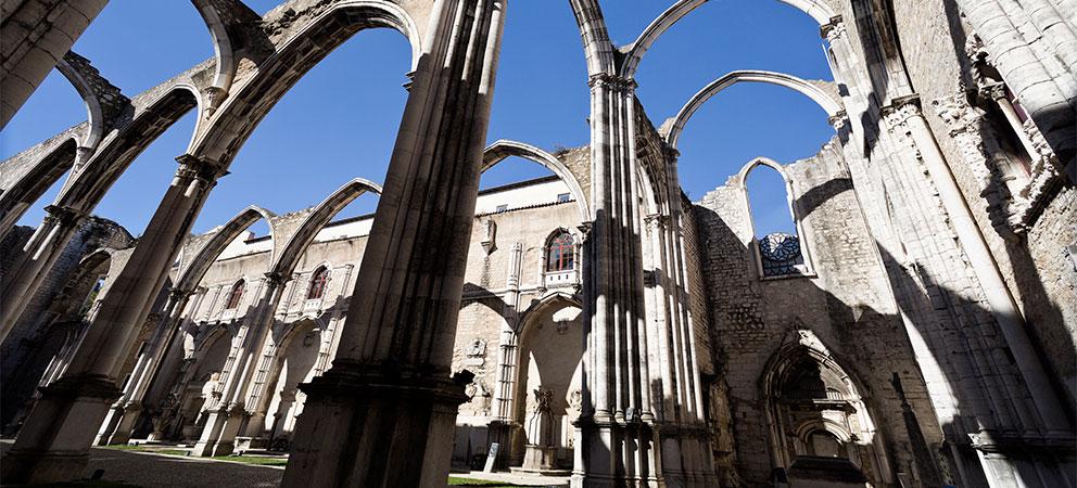 Como es el Convento do Carmo de Lisboa