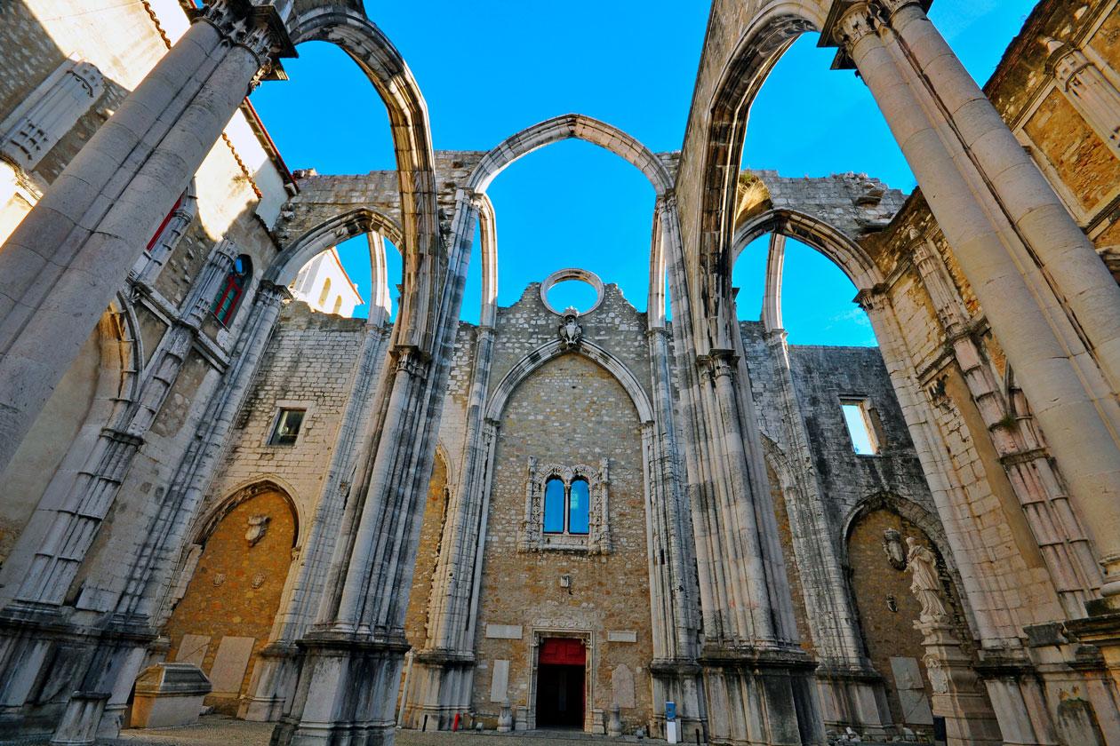Como es el Convento do Carmo