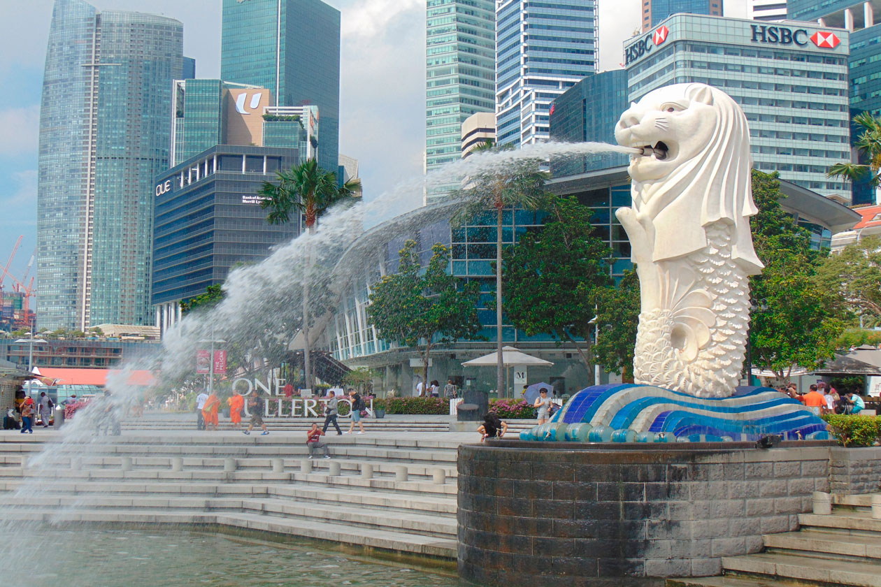 Pasear por Singapur