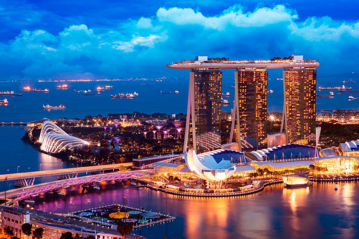 Visitas de Singapur