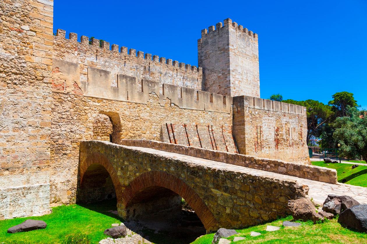 Conocer el Castillo de San Jorge en Lisboa