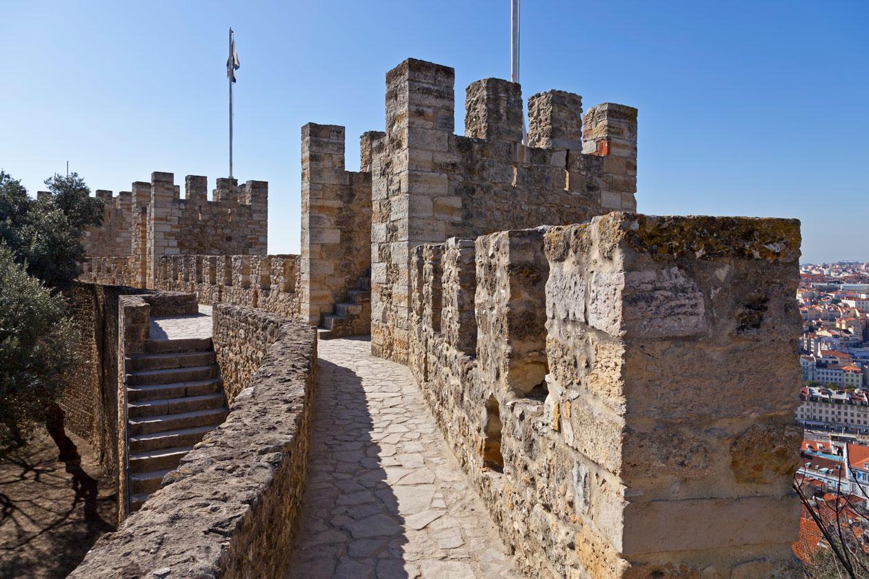 Visitar el Castillo de San Jorge en Lisboa