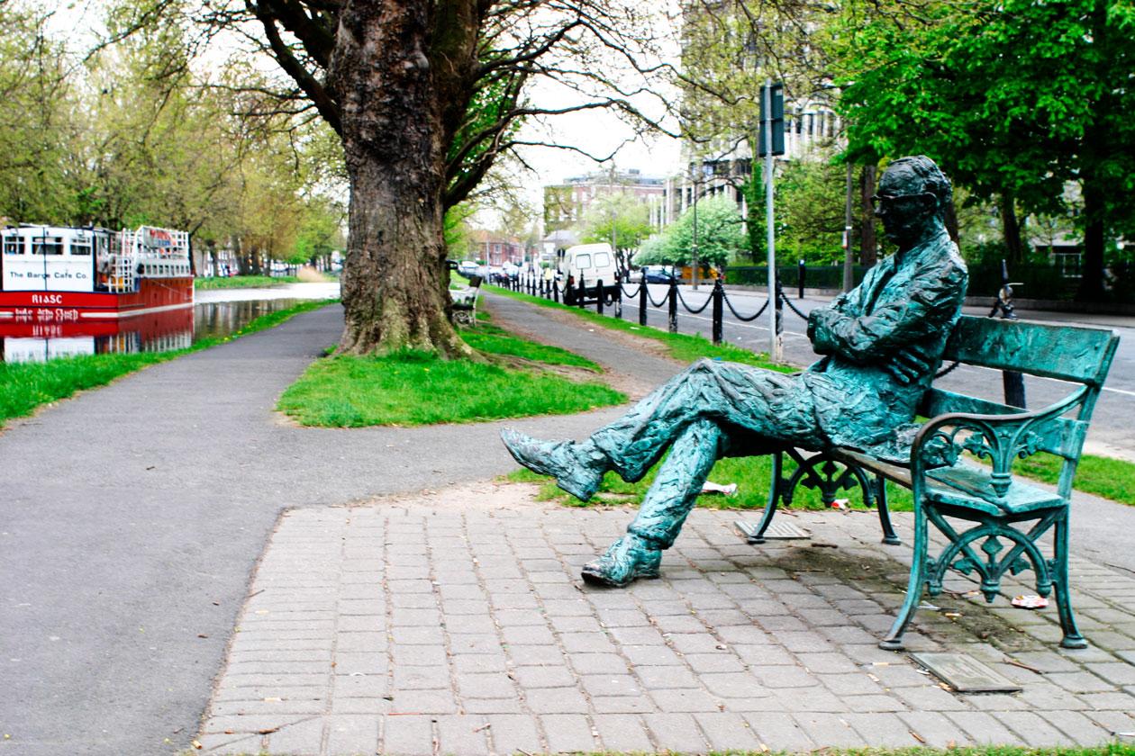 Escultura urbana de Dublin