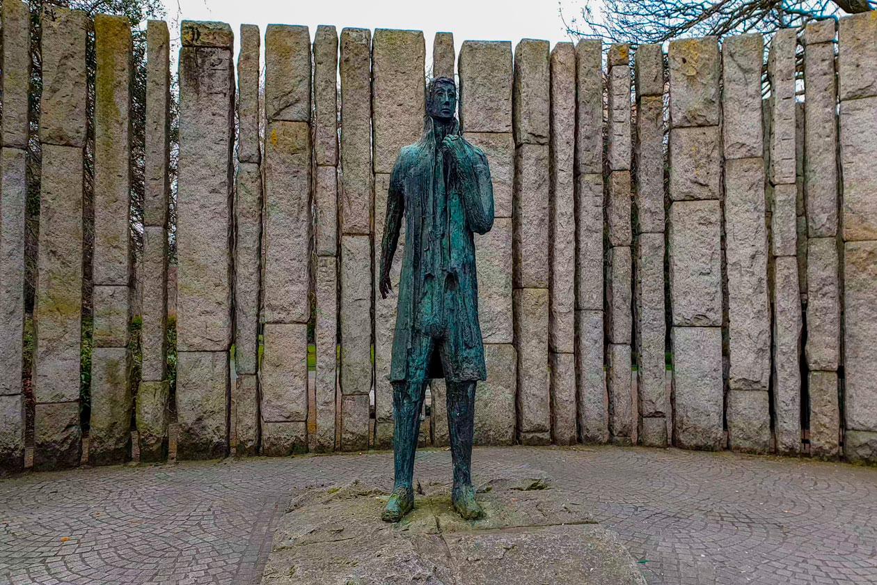 Estatua urbana de Dublin