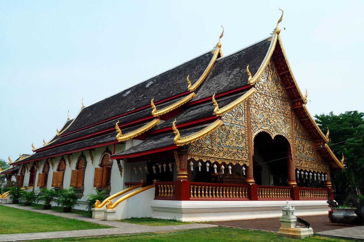 Visitar el Wat Chiang Man