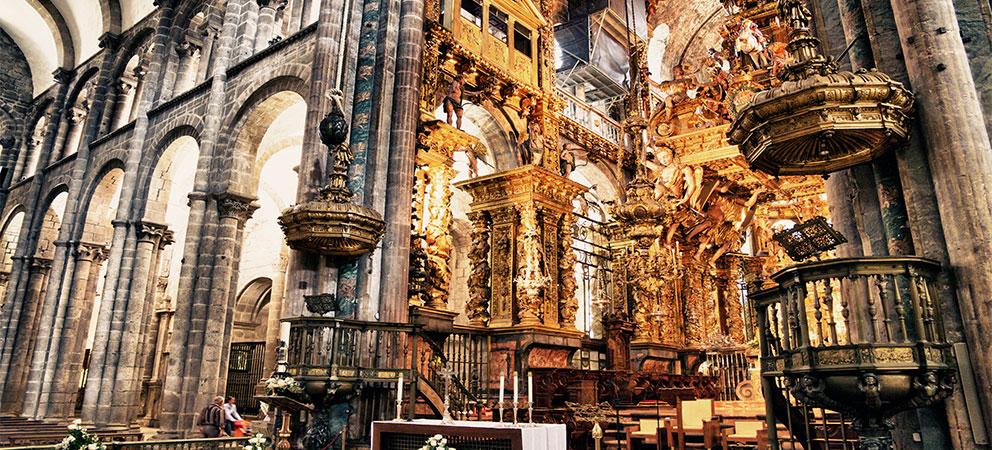 Portico de la Gloria Catedral de Santiago de Compostela