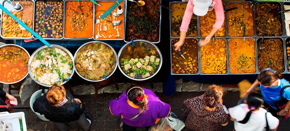 Que comer en Bangkok