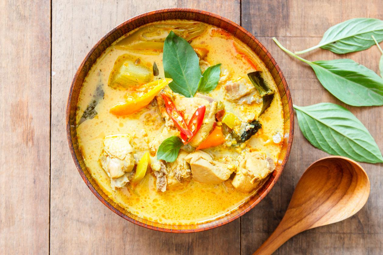 Como es la comida tailandesa