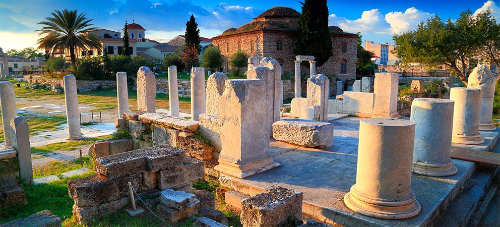 Que ver en el Agora de Atenas