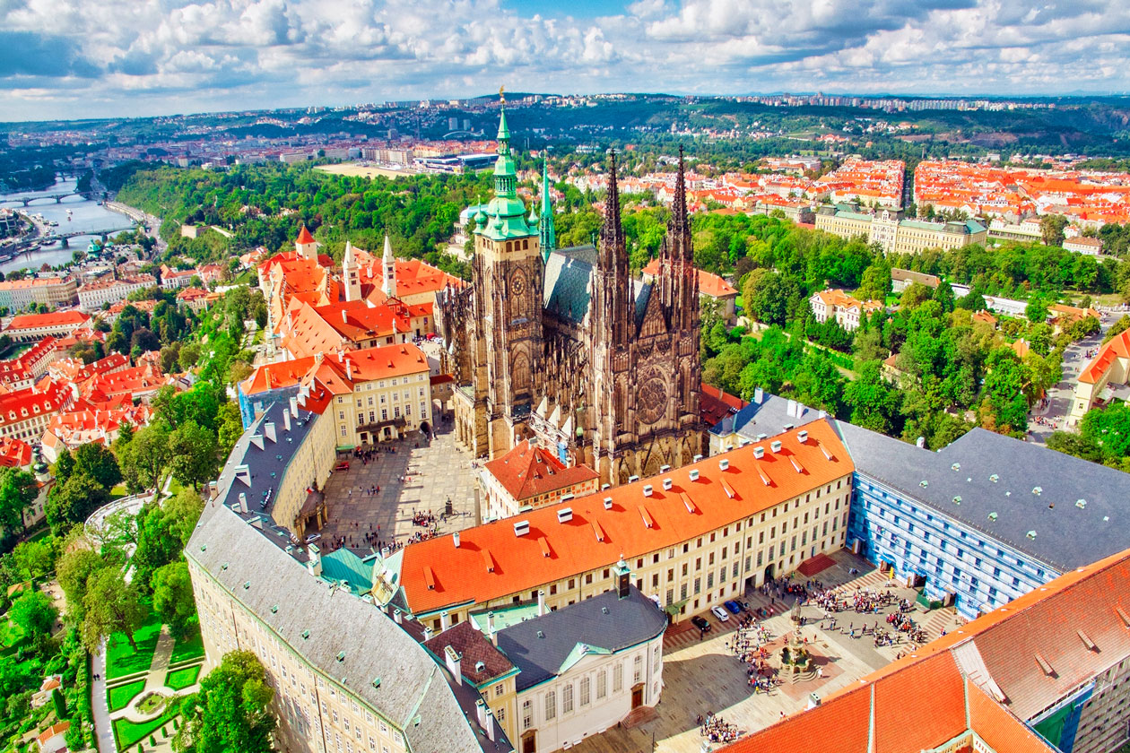 Donde esta la Catedral de San Vito en Praga