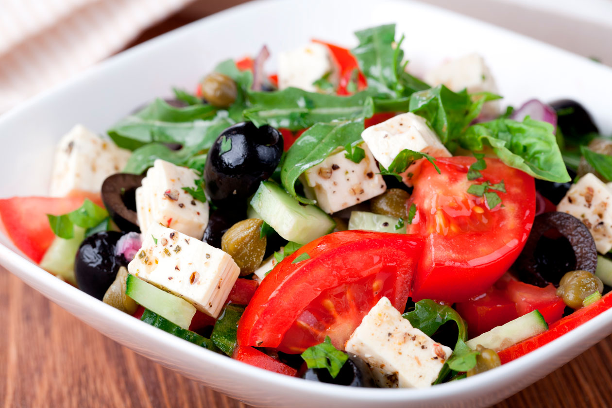Comida clasica griega