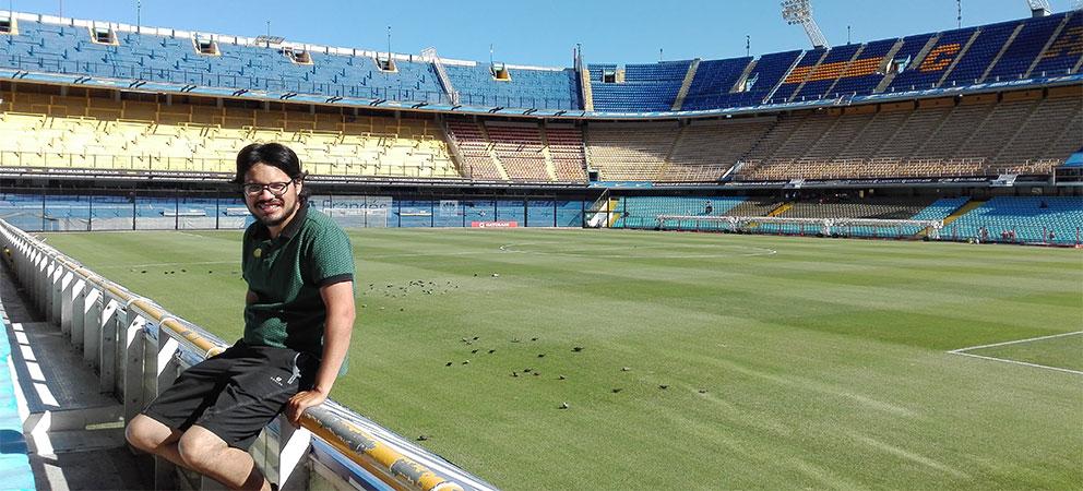 Como es el estadio del Boca Juniors en Buenos Aires