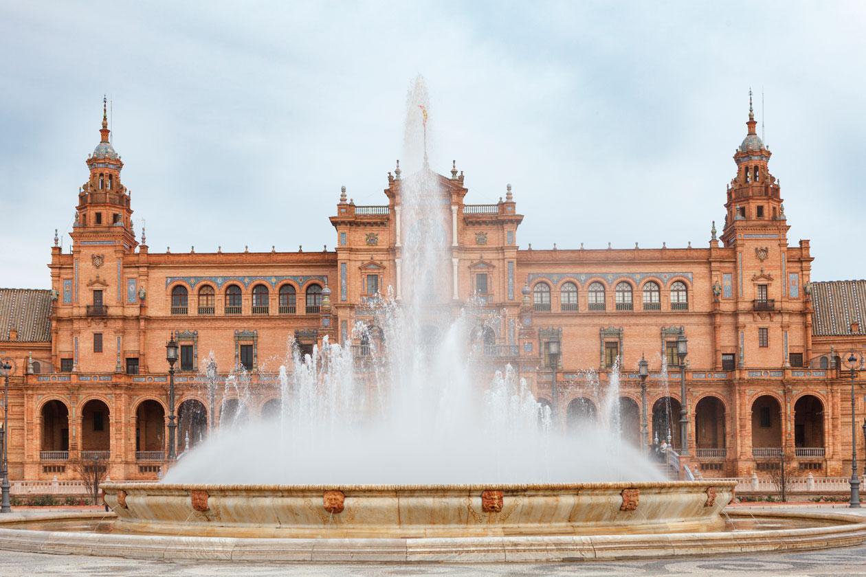 Conocer la Plaza España de Sevilla