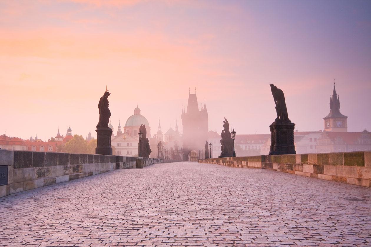 Pasear por Praga